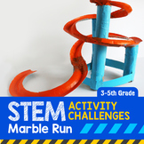 STEM Activity Challenge Marble Run 3rd-5th grade