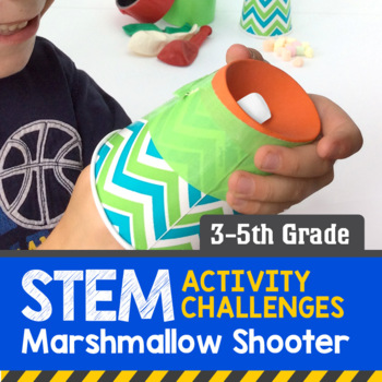 STEM Activity Challenge - Marshmallow Shooter (3rd-5th Grade)