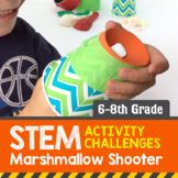 STEM Activity Challenge - Marshmallow Shooter (6th-8th Grade)