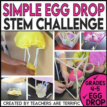 STEM Activity Challenge Simple Egg Drop