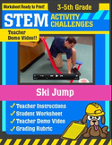 STEM Activity Challenge - Ski Jump (3rd-5th Grade)