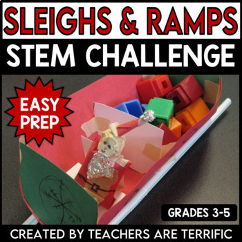 STEM Activity Challenge Sleighs and Ramps