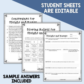 STEM Sleighs and Ramps