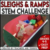 Christmas STEM Challenge Sleighs and Ramps