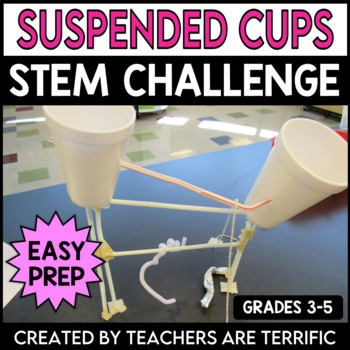 STEM Activity Challenge Suspended Cup Towers