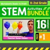 STEM Activity Challenges 16 Pack K - 2nd Grade (PDF version)