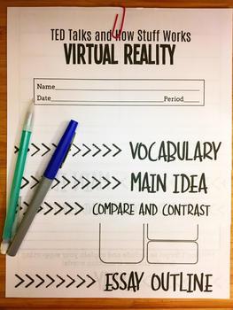 STEM Activity Foldable: Virtual Reality