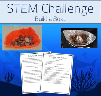 STEM Challenge - Buoyant Force - Build a Boat (Fun Experiment)