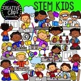 STEM Activity Kids {Creative Clips Clipart}