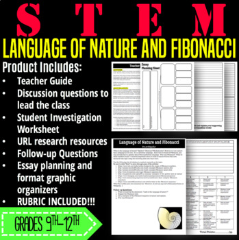 STEM Activity-Language of Nature and Fibonacci