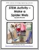STEM Activity - Make a Spider Web