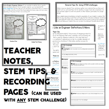STEM Activity - Paper Clip Quick Challenge