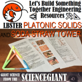 STEM Activity: LBSTER Platonic Solids and Soda Straw Tower
