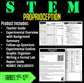 STEM Activity-Proprioception with Graphing
