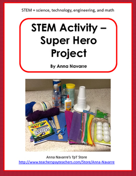 STEM Activity - Super Hero Project