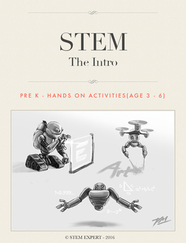 STEM for Preschool - Complete Bundle (throughout the year)