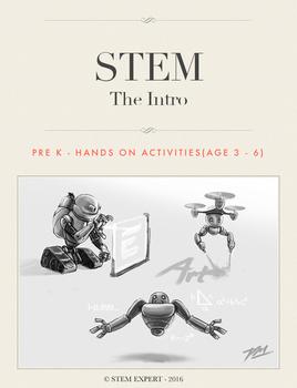 STEM Activity for Preschool - Complete Bundle (throughout