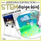 STEM Addition & Subtraction Lights, Camera, Action!