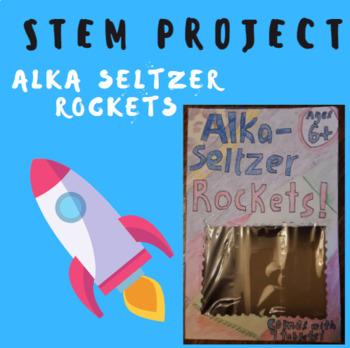 STEM Alka Seltzer Toy Rocket Project