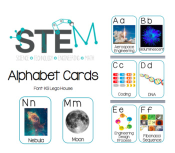STEM Alphabet Cards/Posters