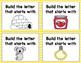 STEM Alphabet Letter Builder Phonics Literacy Center Task Cards