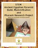 STEM Ancient Egypt Pyramid Build, Mummification, and Phara