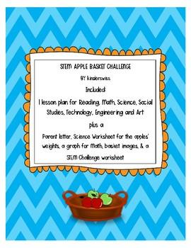 STEM Apple Basket Challenge for Johnny Appleseed