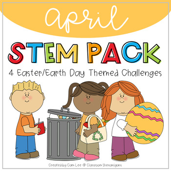 STEM April Earth Day Theme Pack