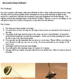 STEM Astronomy Mars Lander Design Challenge- Engineering