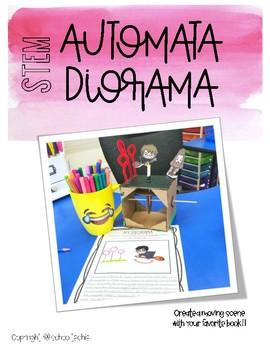 Makerspace STEM: Automata Diorama Book Report