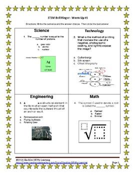 STEM BELL RINGERS/WARM UPS 5.2
