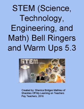 STEM BELL RINGERS/WARM UPS 5.3 (free for limited time).