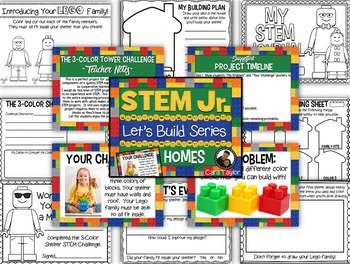 STEM BUNDLE Building for Little Learners