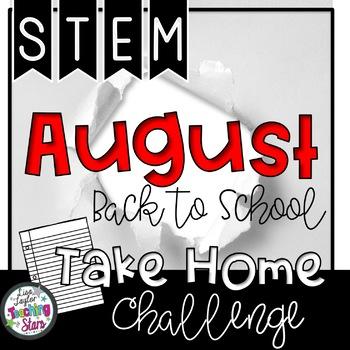 STEM Back to School Take Home Challenge