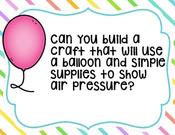 STEM: Balloon Science Stations