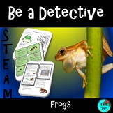 Frogs Life Cycle   Project Based Learning NGSS Biomimicry