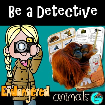 STEM Be an Endangered Animal Detective  -  Identify and So