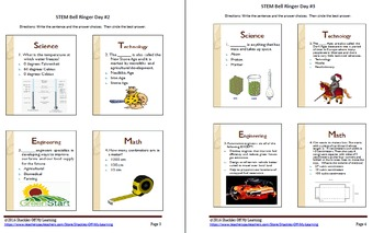 STEM Bell Ringers 1.4