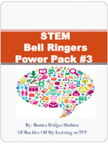 STEM Bell Ringers / Warm Ups Power Pack #3
