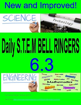 STEM Bell Ringers version 6.3   ***New and Improved****