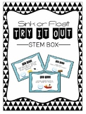 STEM Box: Sink or Float