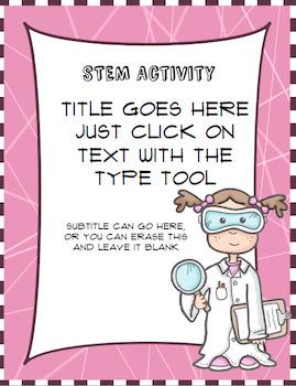 STEM Binder Templates and More!!!