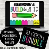 STEM Bins® Build & Write (GROWING BUNDLE) - Digital + Printable