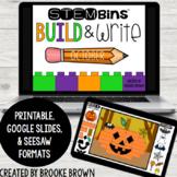 STEM Bins® Build & Write (OCTOBER) - Halloween - Digital +