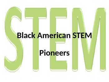STEM Black History Month