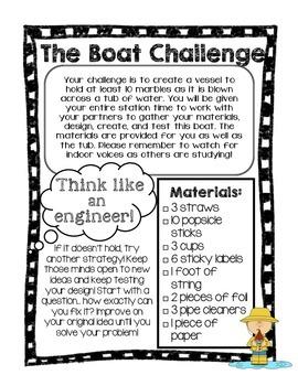 STEM Boat Challenge