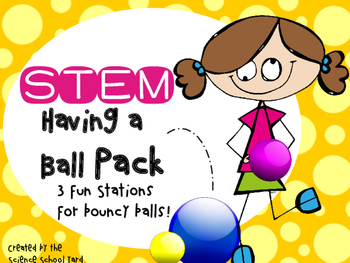 STEM Bouncy Ball Pack