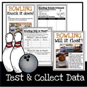 STEM Bowling Activities
