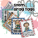 STEM Brag Tags