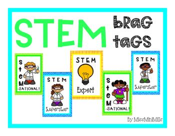 STEM Brag Tags Freebie